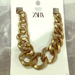 NWT Zara chunky gold chain